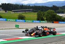 Formel 1 Österreich, 1. Training: Verstappen dominiert weiter