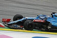 Formel 1 - Video: Formel 1, Alpine: So verlief Guanyu Zhous erster Freitagstest