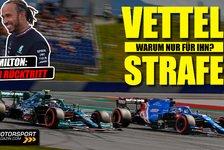 Formel 1 - Video: Formel 1 Strafenchaos: Warum wurde nur Vettel bestraft?