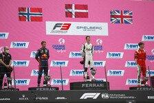 Formel 3 2021: Österreich GP - Rennen 7-9