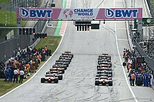 Formel 1: FIA segnet neue Reifen- & Sprint-Qualifying-Regeln ab