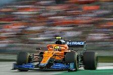 Formel 1, McLaren plötzlich an Mercedes dran: Kam unerwartet