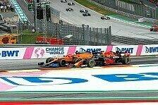 Formel 1, Norris sauer wegen Strafe: Dummer Perez-Move!