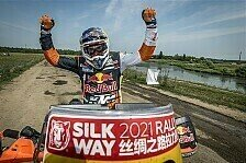 KTM-Pilot Matthias Walkner gewinnt Seidenstraßen-Rallye
