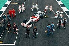 Formel 1: 2022er Auto in Teamdesigns - nur Ferrari fehlt