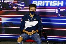 Formel 1, Gasly dämpft Abwerbegerüchte: Habe Red-Bull-Vertrag