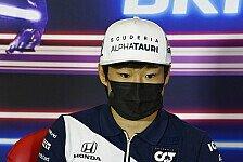 Formel 1, Tost fordert Yuki Tsunoda: Erwarte gute Ergebnisse