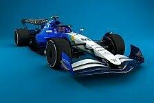 Formel 1, 2022: Konzeptfahrzeug in den Farben der Teams