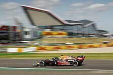 Formel 1 Silverstone, 1. Training: Verstappen deklassiert Rest