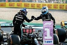Formel 1, Mercedes mit Teamwork: Bottas zieht Hamilton zu Pole
