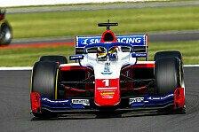 Formel 2 Silverstone, Rennen 1: Raketen-Sieg für Shwartzman