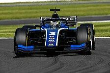 Formel 2 Silverstone: Alpine-Junior Zhou gewinnt Hauptrennen