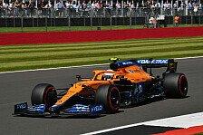 Formel 1 Silverstone - Norris ratlos: Ferrari zu schnell