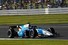 Formel 2 Silverstone, Sprintrennen 2: Verschoor mit erstem Sieg