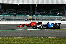 Formel 1: Russell räumt Sainz ab, kassiert Grid-Strafe