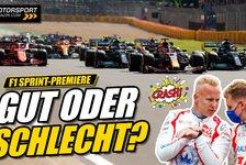 Formel 1 - Video: Formel 1 Sprint-Premiere: Was war gut, was schlecht?