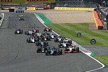 Formel 2 2021: Großbritannien GP - Rennen 10 bis 12