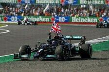 Formel 1 Silverstone: Hamilton siegt nach Unfall mit Verstappen