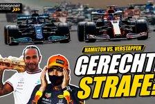 Formel 1 - Video: Formel 1, Gerechte Strafe für Hamilton nach Verstappen-Crash?