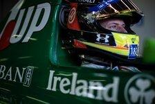 Mick Schumacher im ersten Formel-1-Auto seines Vaters Michael