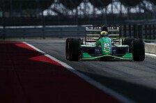 Formel 1: Mick Schumacher im Jordan 191 von Vater Michael