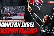 Formel 1 - Video: Formel 1: Hamilton-Jubel nach Verstappen-Crash unsportlich?