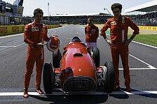 Formel 1 - Video: Charles Leclerc fährt Ferraris erstes Formel-1-Siegerauto