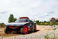 Rallye Dakar: Audi enthüllt Elektrowagen für Wüstenrallye