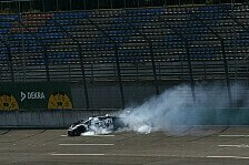 DTM: Highspeed-Unfall von Esmee Hawkey am Lausitzring