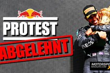 Formel 1 - Video: Red Bull verliert Protest: Keine härtere Strafe für Hamilton