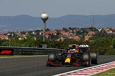 Formel 1 Ungarn: Verstappen im 1. Training vor Mercedes