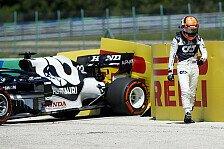 Formel 1, Tsunoda-Enttäuschung im Ungarn-Training: Zu ungestüm