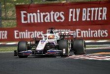 Formel 1 Ungarn, Mazepin verblüfft: Haas plötzlich zu stabil