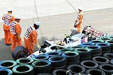 Formel 1 Ungarn: Schumacher crasht in Qualifying-Generalprobe