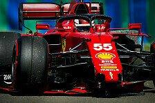 Formel 1, Sainz trotz Ferrari-Lob: Habe viel liegengelassen