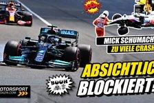 Formel 1 - Video: Formel 1: Hat Mercedes Red Bull absichtlich blockiert?