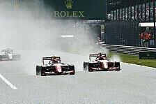 Formel 3 Ungarn: Hauger siegt in Regenschlacht, Schumacher P4