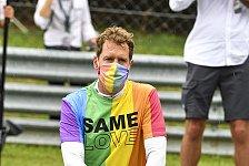 Formel 1, Vettel verwarnt: Pride-Shirt bei Ungarn-Hymne tabu