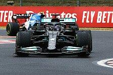 Formel 1, Hamilton froh über Rennende: Körperlich völlig fertig