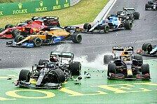 Formel 1, Startunfall in Ungarn: Bottas zerstört Red Bull