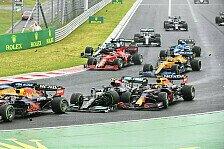 Formel 1 - Bottas verursacht Start-Desaster: Zu spät gebremst