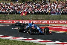 Formel 1, Ungarn: Ocon siegt im Chaos vor Vettel, Drama um RBR