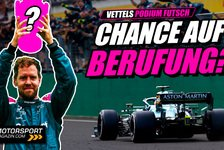 Formel 1 - Video: Formel 1, Vettels Chancen auf Berufung: Darf er P2 behalten?