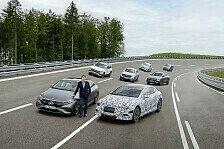 Mercedes führt 2025 drei neue Elektroarchitekturen