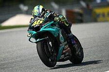 Valentino Rossi klagt: MotoGP-Reifen sind ein Problem