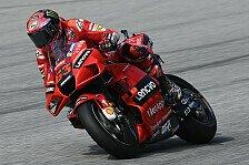 MotoGP Aragon: Francesco Bagnaia auch im Warm-Up Schnellster