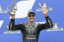 Fabio Quartararo: Mit Podest weiter auf MotoGP-Titelkurs