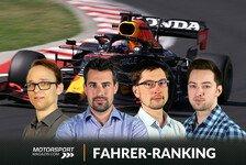 Formel 1, MSM-Fahrerranking 2021: Neuer Gegner für Verstappen