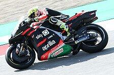 MotoGP Silverstone: Aleix Espargaro holt Bestzeit im Warm-Up