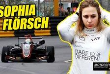 Sophia Flörsch: Macau-Unfall kein Problem für den Kopf